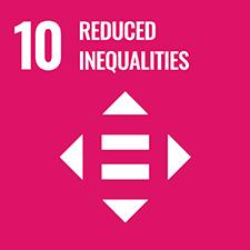 UN SDG number 10 Reduced Inequalities logo